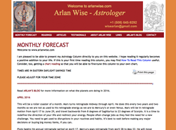 Arlan Wise Astrologer